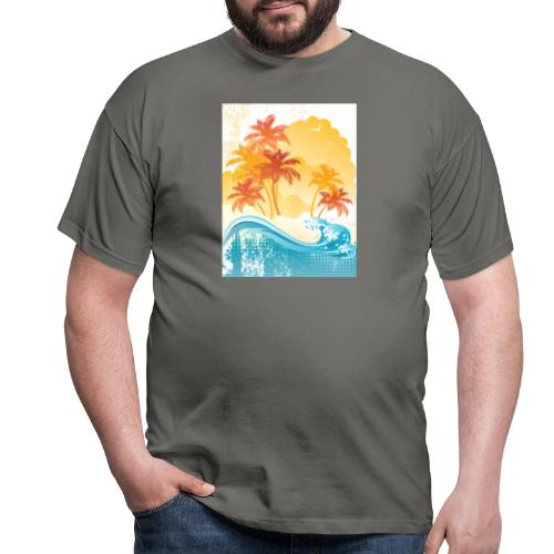 Palm Beach - Men's T-Shirt