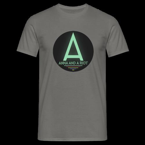 Anna And A Riot - Männer T-Shirt