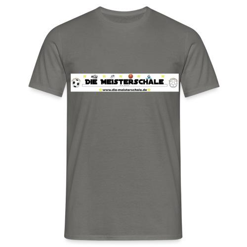 Die Meisterschale Logo Banner Werbung jpg - Männer T-Shirt