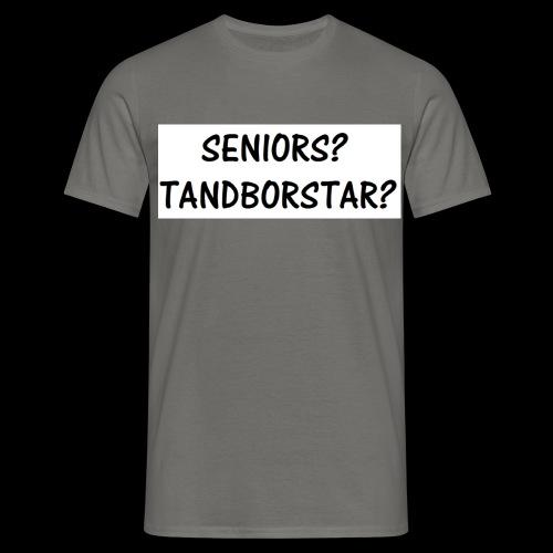 Seniors? Tandborstar? - T-shirt herr