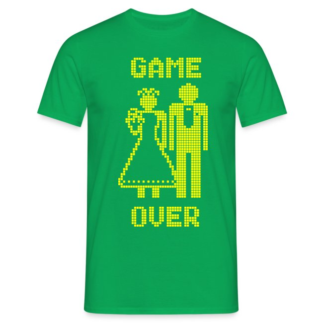 Game Over Old Skool geel