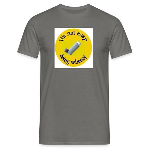 wheeze - Men's T-Shirt
