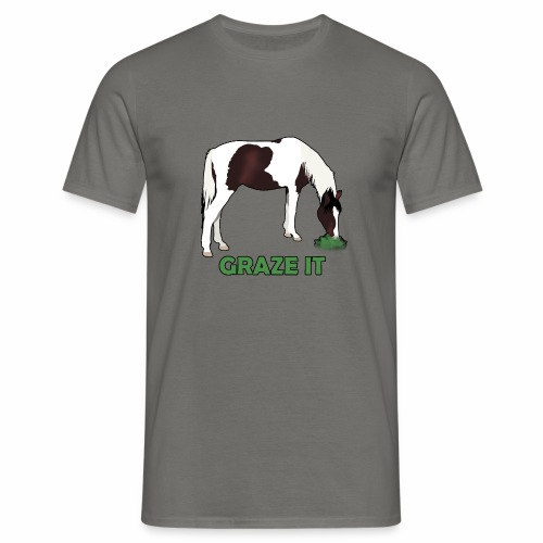 Graze It - Männer T-Shirt