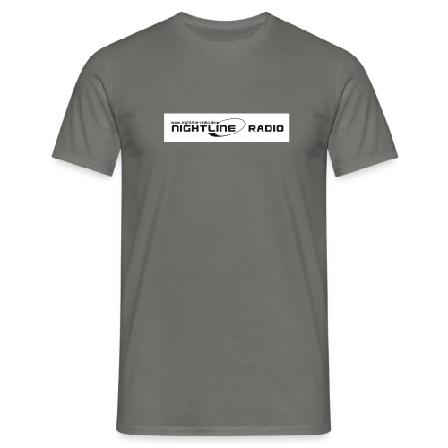 nightline logo - Männer T-Shirt