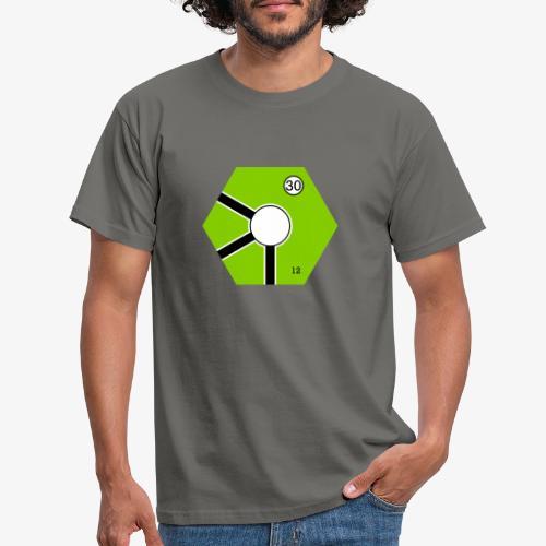 Tile Green - T-shirt herr