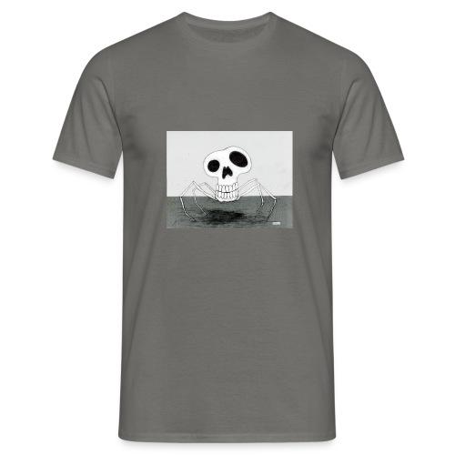 skull spider - T-shirt herr