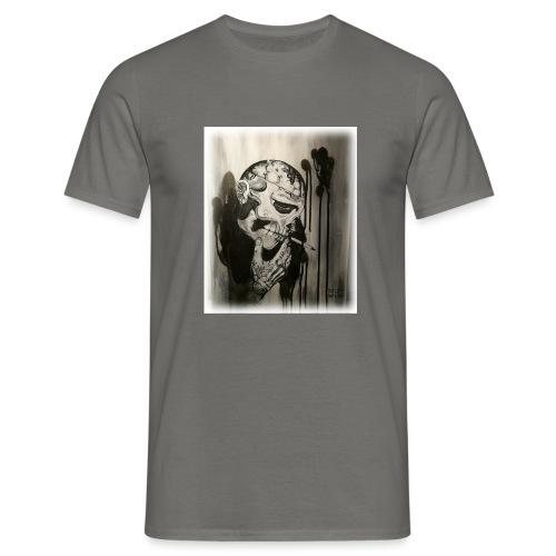 Skull illustration 1 - T-shirt herr