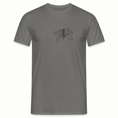 Fiore semplice - Maglietta da uomo
