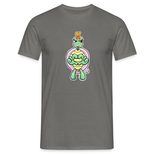 Girlie Turtle/ Schildkröte - Männer T-Shirt