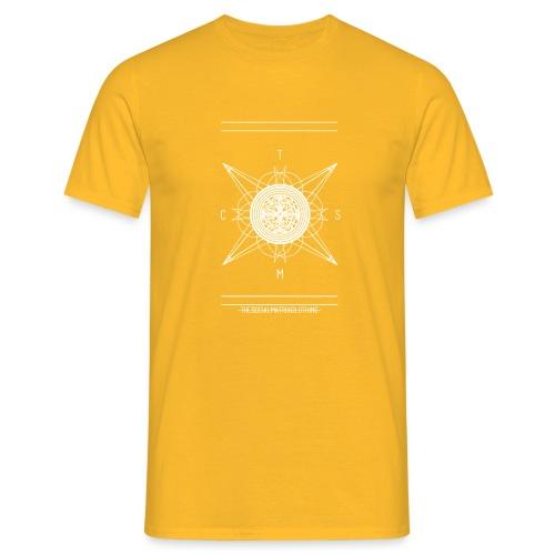DE PIONEER [WIT] - Mannen T-shirt