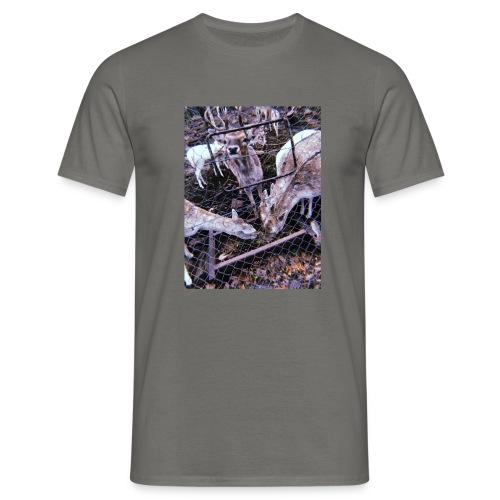 Retro Deers - Männer T-Shirt