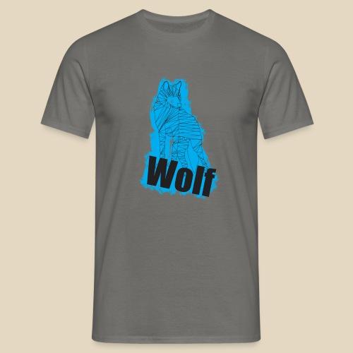 Blue Wolf - T-shirt Homme