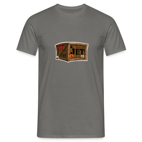 Jet Cartoon Wood Box - Männer T-Shirt