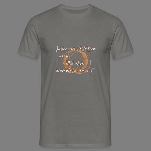 Kaffee - Männer T-Shirt