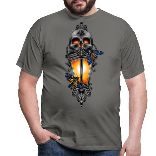 Deathlantern design by Gideon - Mannen T-shirt