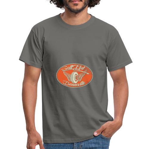 Salt Flat Racing Bonneville - Männer T-Shirt