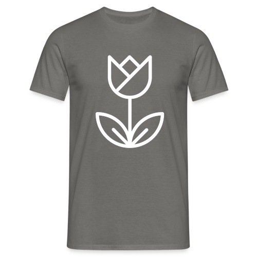 Tulip white png - Men's T-Shirt