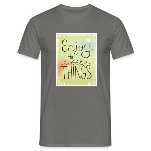 LITTLE_THINGS - Mannen T-shirt