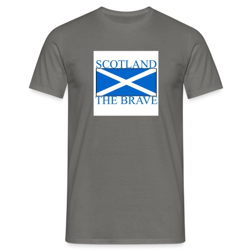 scotland the brave - Men's T-Shirt