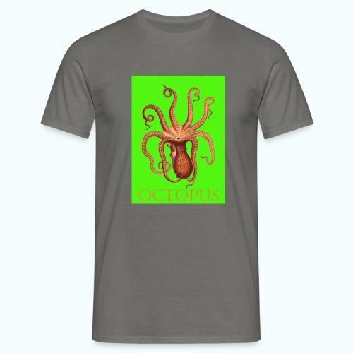 Kraken Pop Art Drawing - Men's T-Shirt