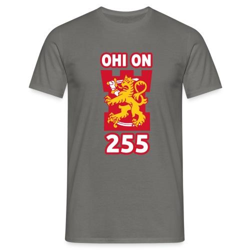 ohi on 255 tornilogo - Miesten t-paita
