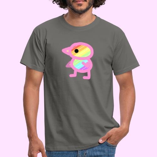 Rainbowguin - Herre-T-shirt