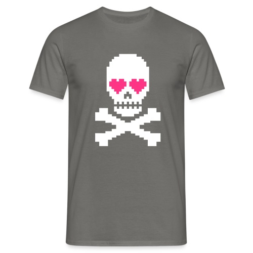Skull Love - Mannen T-shirt