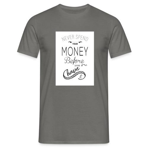 Spending is the season - Men's T-Shirt