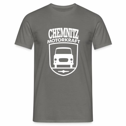 Barkas B1000 Motorkraft Chemnitz coat of arms - Men's T-Shirt