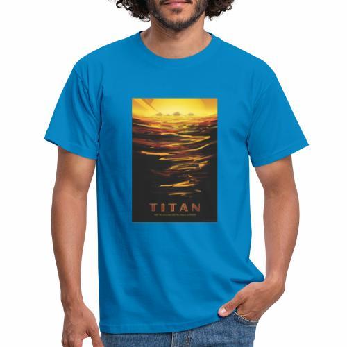 Vision du futur sur Titan - T-shirt Homme