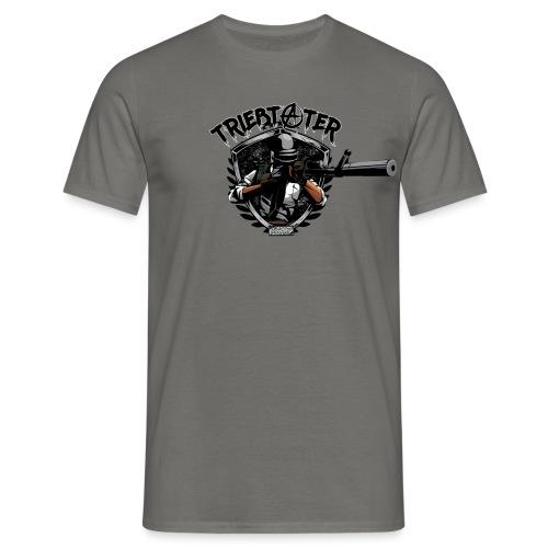 Triebtäter weapon - Männer T-Shirt