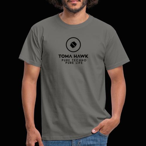 Toma Hawk - Pure Techno - Pure Life Black - Männer T-Shirt