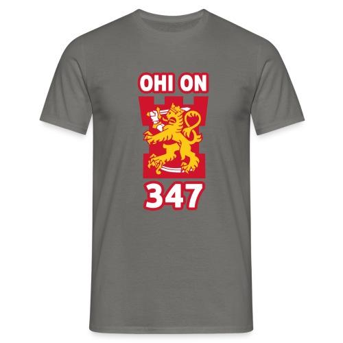 ohi on 347 tornilogo - Miesten t-paita