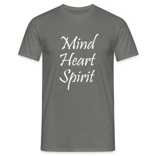 Mind Heart Spirit - Men's T-Shirt