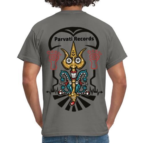 Parvati Records trishul - Men's T-Shirt