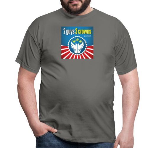 Official 2 Guys 3 Crowns Logo - Men's T-Shirt