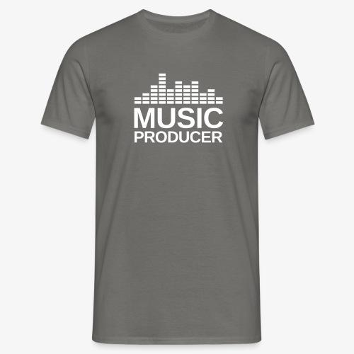 Music Producer Equalizer - Männer T-Shirt