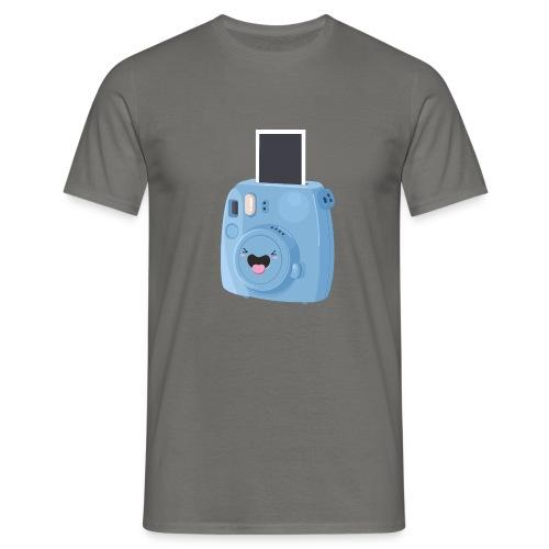 Appareil photo instantané bleu - T-shirt Homme