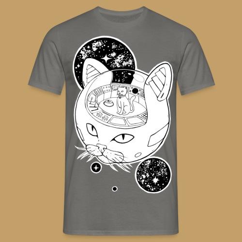 Kosmiczny Kot Imperator - Koszulka męska