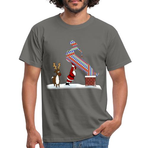Superstox Stock Car Christmas Delivery - Men's T-Shirt