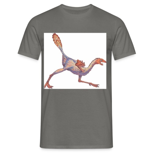 caudipteryx2 - T-shirt herr