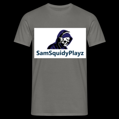 SamSquidyplayz skeleton - Men's T-Shirt