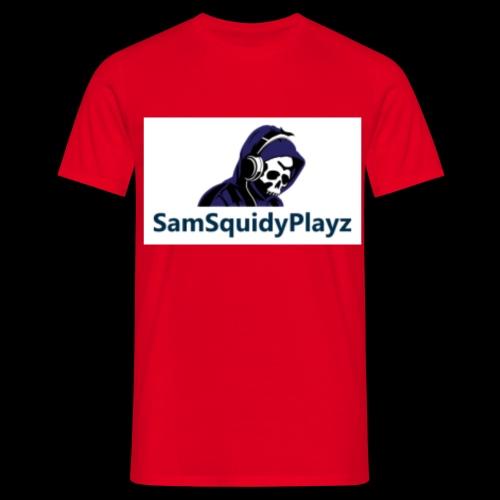 SamSquidyplayz skeleton - Men's T-Shirt