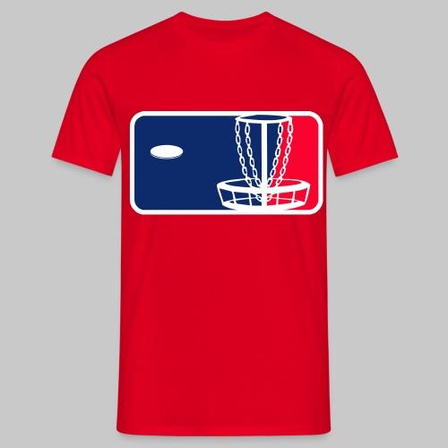 Major League Frisbeegolf - Miesten t-paita