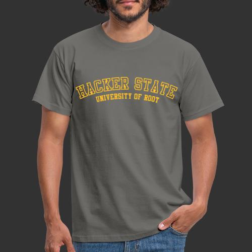 geek hackerstate - T-shirt herr