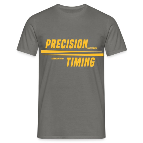PRECISION & TIMING - Herre-T-shirt