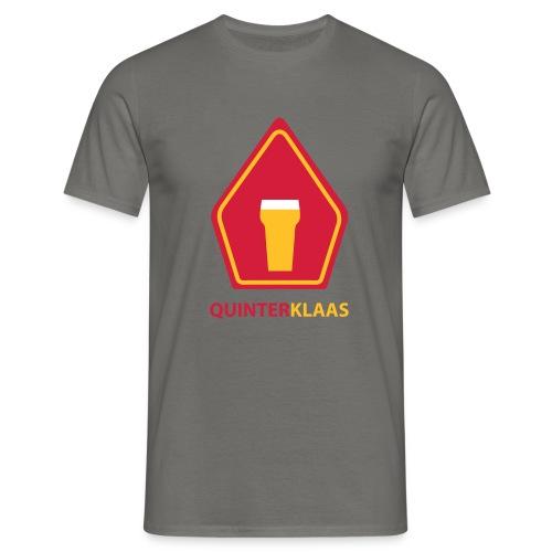 logo quinterklaas - Mannen T-shirt