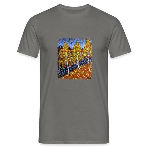Syksyn koivut - Miesten t-paita