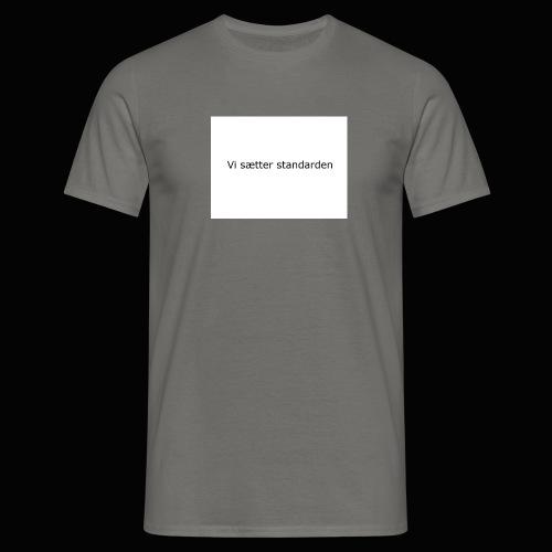 Vi Sætter Standarden - Herre-T-shirt