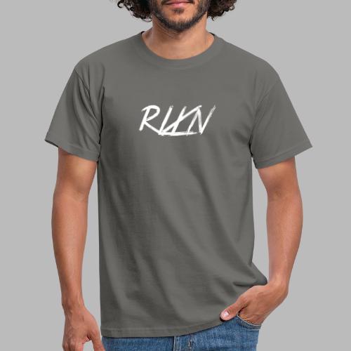 LOGORLXNkleinweiss - Männer T-Shirt